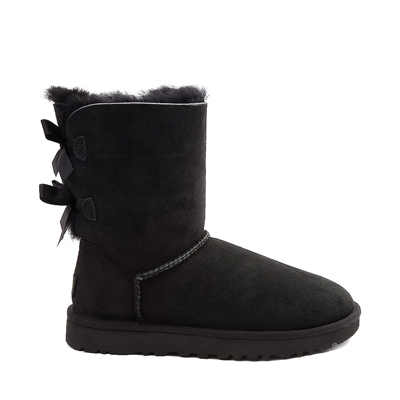 Main view of Womens UGG® Bailey Bow II Boot - Black