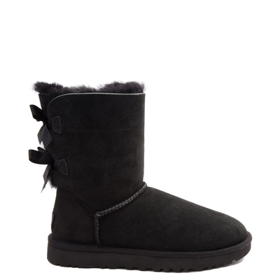 Main view of Womens UGG Bailey Bow II Boot in Black