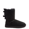 Womens UGG Bailey Bow II Boot in Black
