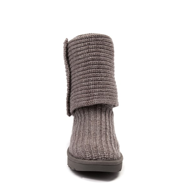 alternate view Womens UGG® Classic Cardy Knit BootALT4