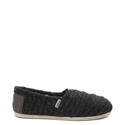 Main view of Womens TOMS Classic Cable Knit Slip On Casual Shoe