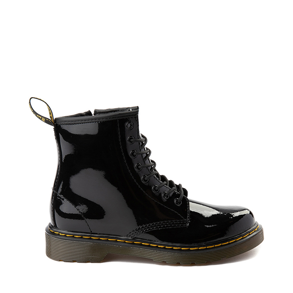 Main view of Dr. Martens 1460 8-Eye Patent Boot - Big Kid - Black