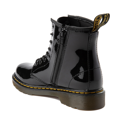 Alternate view of Dr. Martens 1460 8-Eye Patent Boot - Big Kid - Black