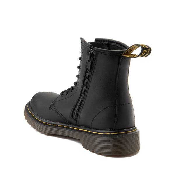 alternate view Dr. Martens 1460 8-Eye Boot - Big Kid - BlackALT1