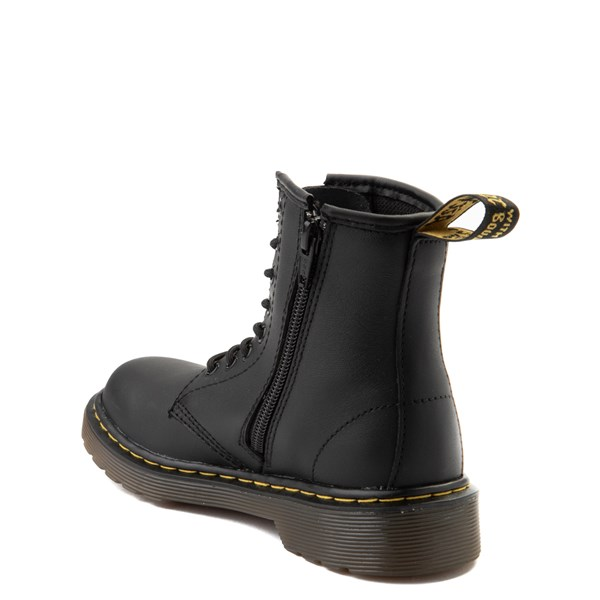 alternate view Dr. Martens 1460 8-Eye Boot - Big Kid - BlackALT2