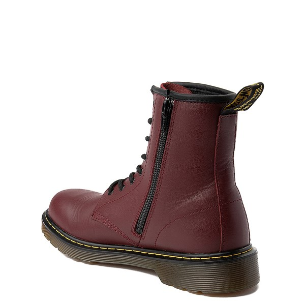 alternate view Dr. Martens 1460 8-Eye Boot - Big Kid - CherryALT2