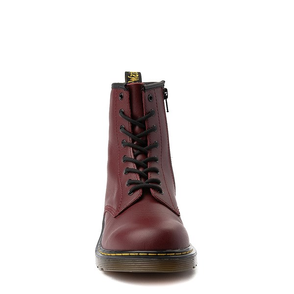 alternate view Dr. Martens 1460 8-Eye Boot - Big Kid - CherryALT4