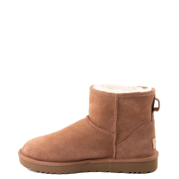 alternate view Womens UGG® Classic II Mini Boot - ChestnutALT1