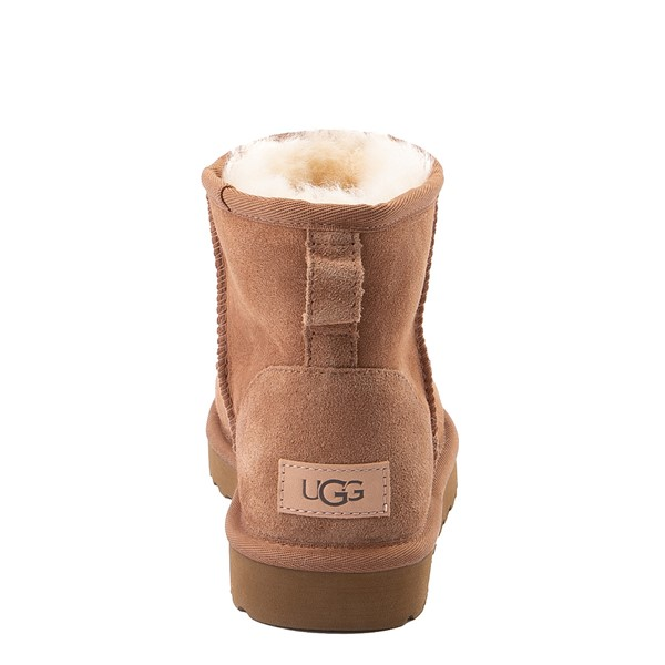 alternate view Womens UGG® Classic II Mini Boot - ChestnutALT4