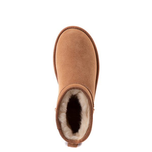 alternate view Womens UGG® Classic II Mini Boot - ChestnutALT4B