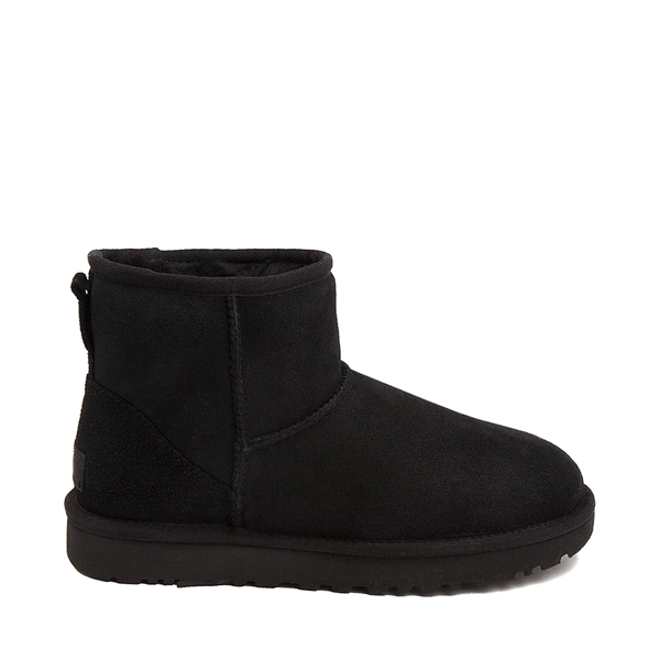 Main view of Womens UGG® Classic II Mini Boot - Black