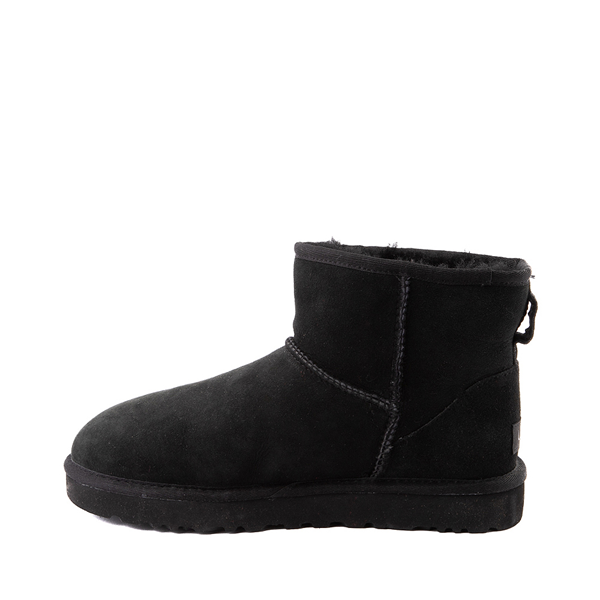 alternate view Womens UGG® Classic II Mini Boot - BlackALT1