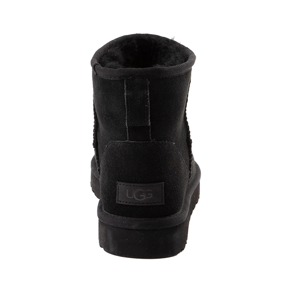 alternate view Womens UGG® Classic II Mini Boot - BlackALT4