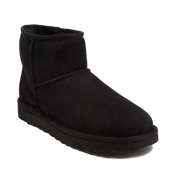alternate view Womens UGG® Classic II Mini Boot - BlackALT5