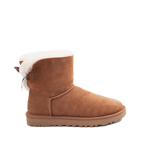 Main view of Womens UGG® Mini Bailey Bow II Boot - Chestnut