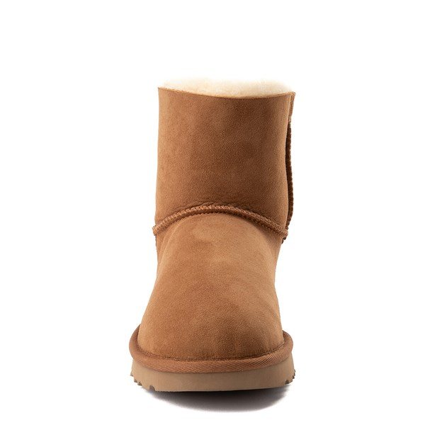 alternate view Womens UGG® Mini Bailey Bow II Boot - ChestnutALT4
