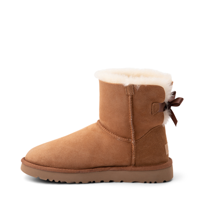 Alternate view of Womens UGG® Mini Bailey Bow II Boot - Chestnut