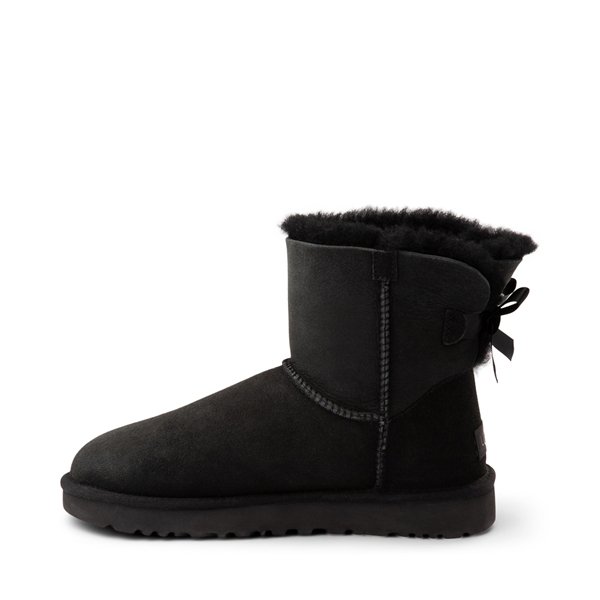 alternate view Womens UGG® Mini Bailey Bow II Boot - BlackALT1