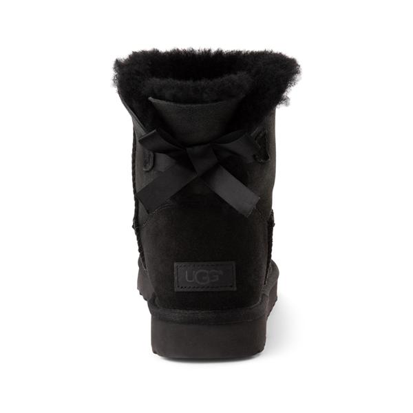 alternate view Womens UGG® Mini Bailey Bow II Boot - BlackALT4