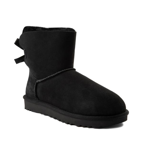 alternate view Womens UGG® Mini Bailey Bow II Boot - BlackALT5