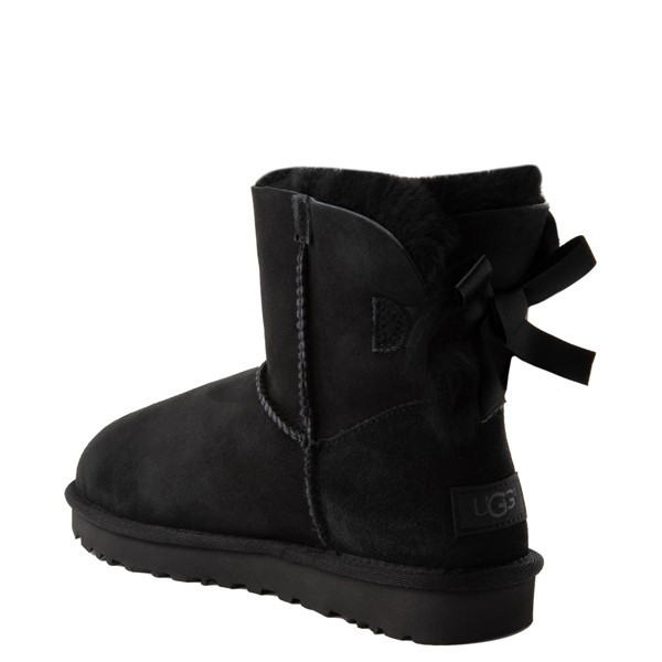 alternate view Womens UGG® Mini Bailey Bow II Boot - BlackALT2