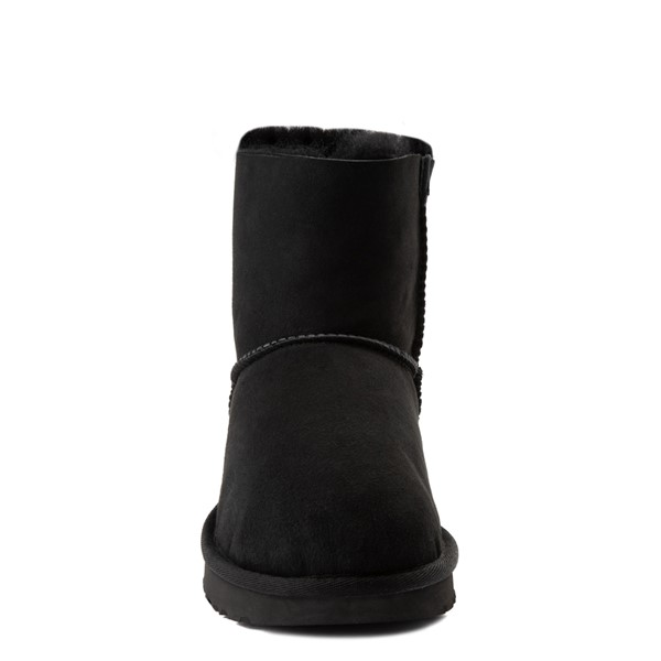 alternate view Womens UGG® Mini Bailey Bow II Boot - BlackALT4