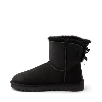 Alternate view of Womens UGG® Mini Bailey Bow II Boot - Black