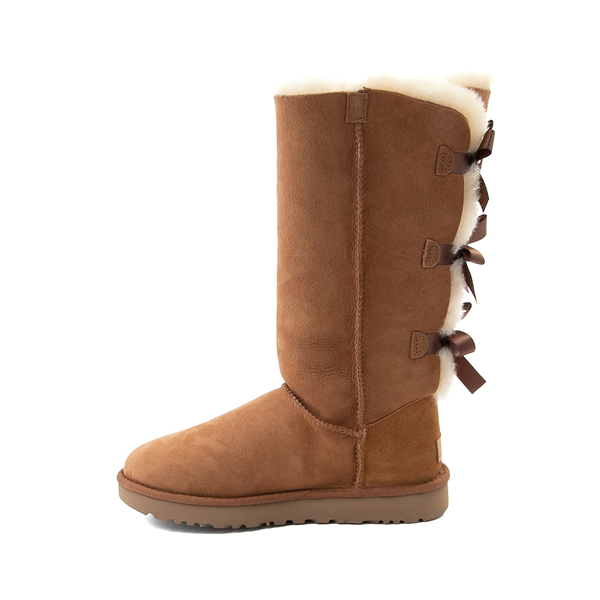 alternate view Womens UGG® Bailey Bow II Tall Boot - ChestnutALT1