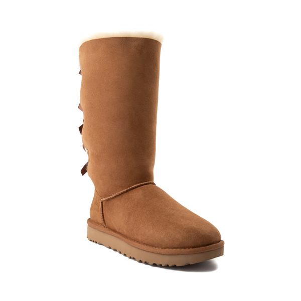 alternate view Womens UGG® Bailey Bow II Tall Boot - ChestnutALT5