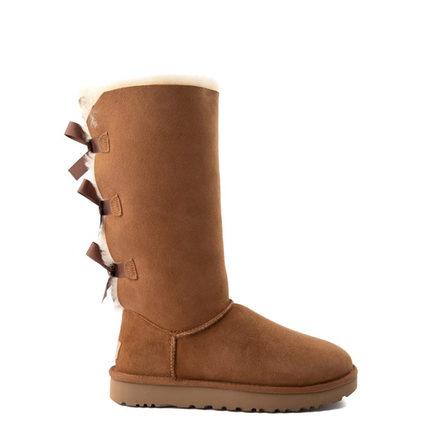 Main view of Womens UGG® Bailey Bow II Tall Boot - Chestnut