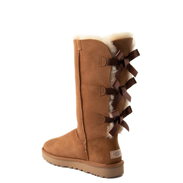 alternate view Womens UGG® Bailey Bow II Tall Boot - ChestnutALT2