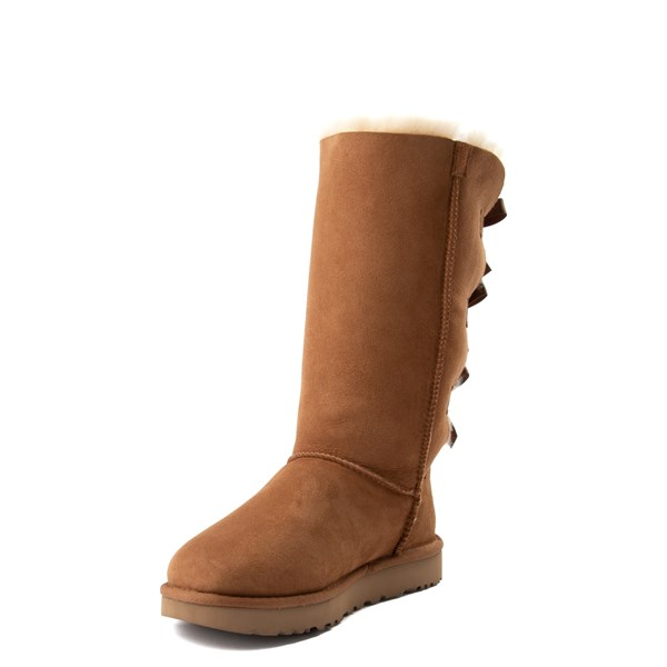alternate view Womens UGG® Bailey Bow II Tall Boot - ChestnutALT3