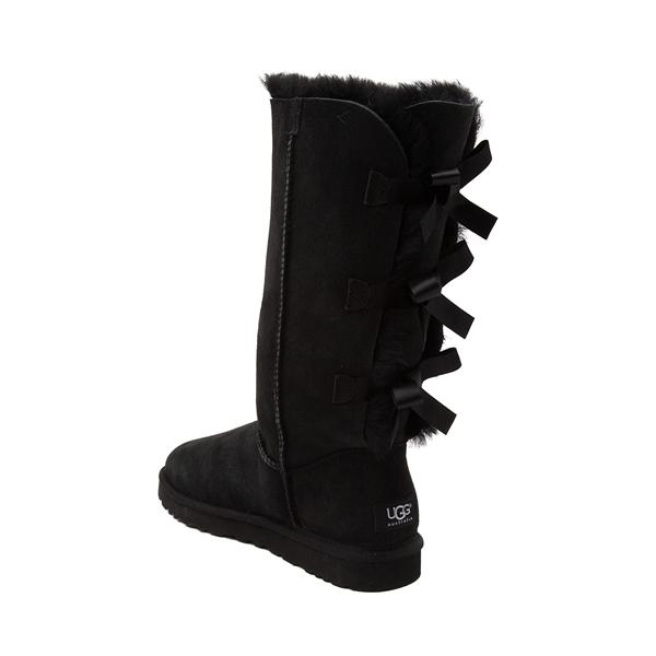alternate view Womens UGG® Bailey Bow II Tall Boot - BlackALT1