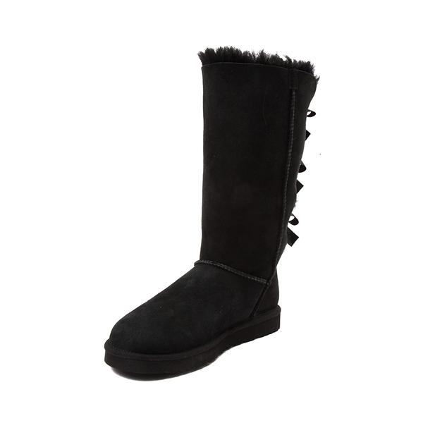 alternate view Womens UGG® Bailey Bow II Tall Boot - BlackALT2