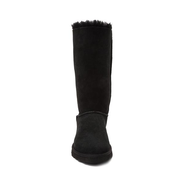 alternate view Womens UGG® Bailey Bow II Tall Boot - BlackALT4