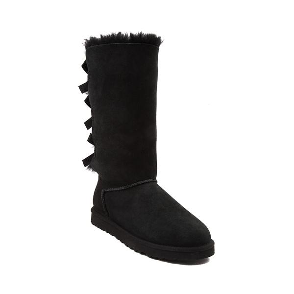 alternate view Womens UGG® Bailey Bow II Tall Boot - BlackALT5