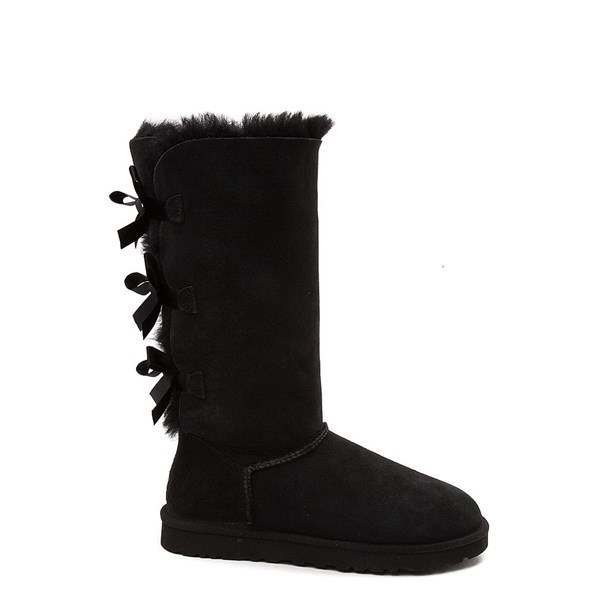 Womens UGG® Bailey Bow II Tall Boot - Black