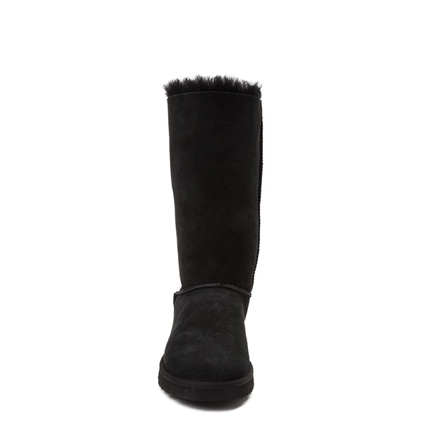 alternate view Womens UGG® Bailey Bow II Tall Boot - BlackALT4