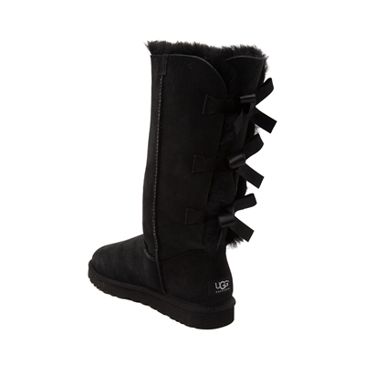 Alternate view of Womens UGG® Bailey Bow II Tall Boot - Black