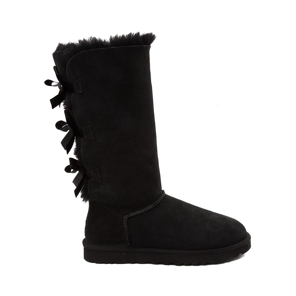 Womens UGG® Bailey Bow II Tall Boot - Black