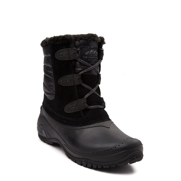 alternate view Womens The North Face Shellista II Shorty Boot - BlackALT1