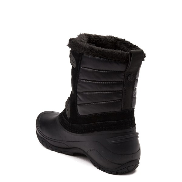 alternate view Womens The North Face Shellista II Shorty Boot - BlackALT2