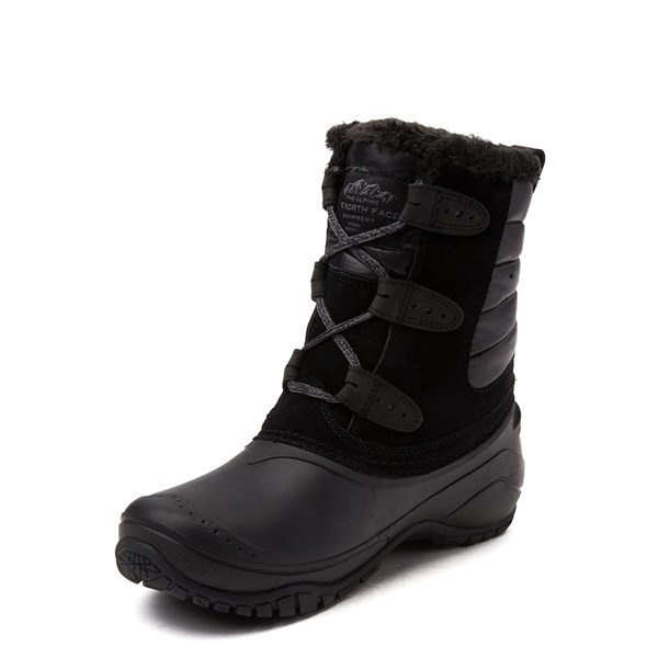alternate view Womens The North Face Shellista II Shorty Boot - BlackALT3