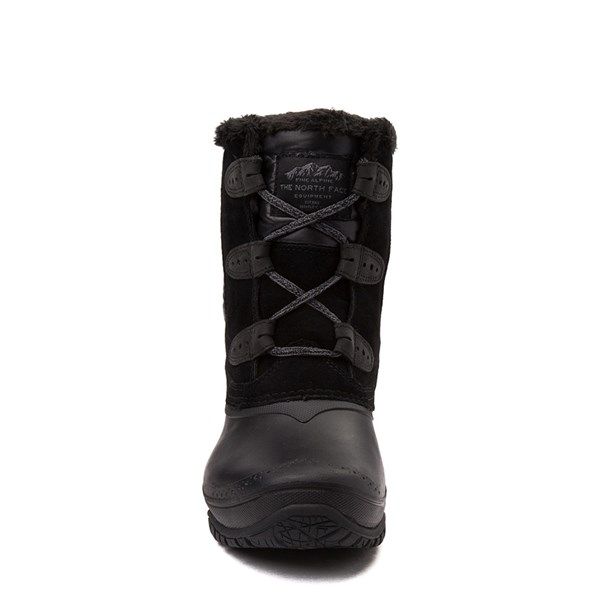 alternate view Womens The North Face Shellista II Shorty Boot - BlackALT4