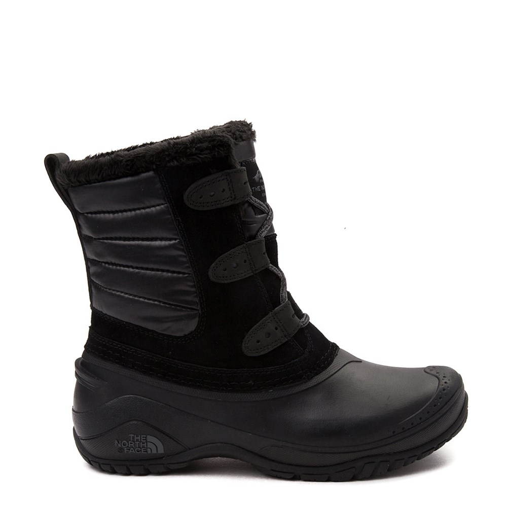 Womens The North Face Shellista II Shorty Boot - Black