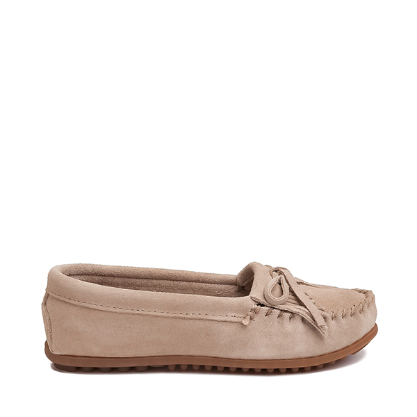 Womens Minnetonka Kilty Casual Shoe - Stone