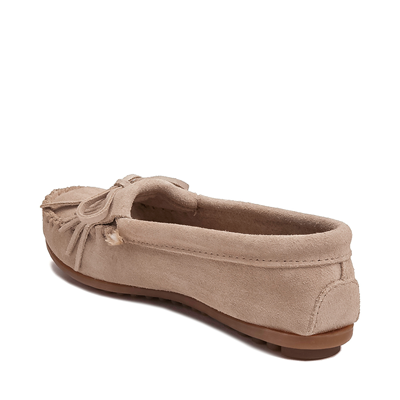 Alternate view of Womens Minnetonka Kilty Casual Shoe - Stone