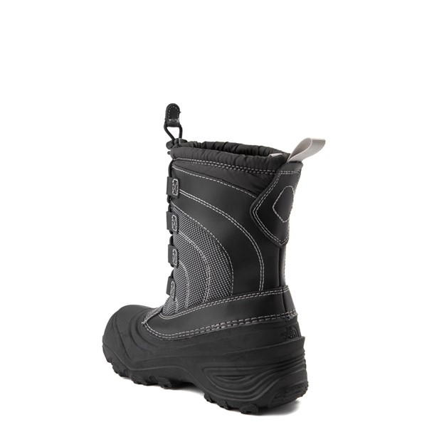 alternate view The North Face Alpenglow IV Boot - Little Kid - BlackALT1