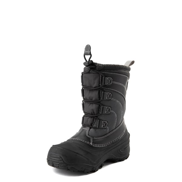 alternate view The North Face Alpenglow IV Boot - Little Kid - BlackALT2