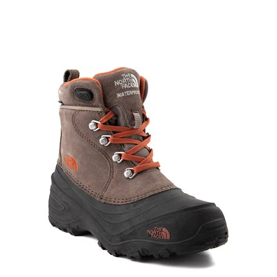 Alternate view of The North Face Chilkat Lace II Boot - Little Kid - Brown